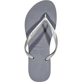 havaianas Slim Sandalias Mujer, gris